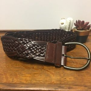 Accessories - Brown Leather Boho Chic Belt